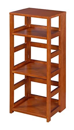Niche FFSQ3412CH Flip Flop Square Folding Bookcase, 34-inch, Cherry