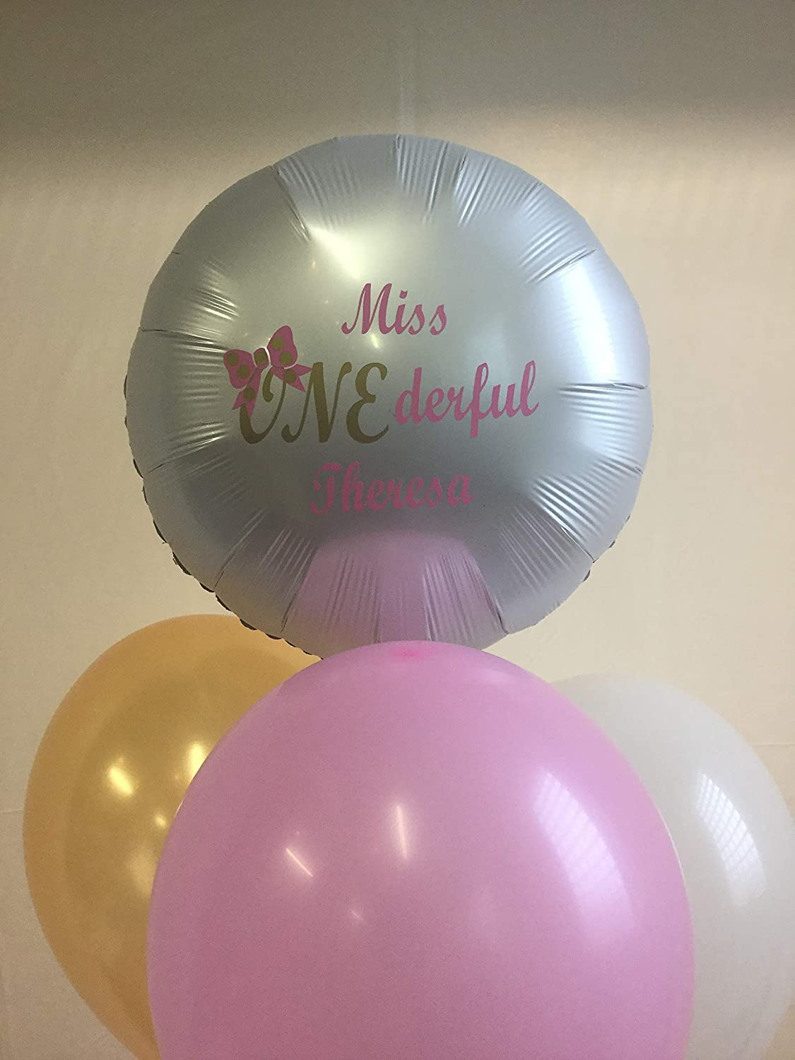 Miss Onederful Decorations Miss Onederful Balloon Custom Decorations 1st Birthday Decorations,Miss Decorations First Birthday Onederful Onederful Personalized Balloons