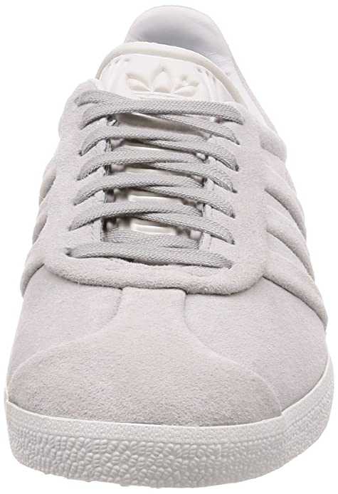 adidas Gazelle Stitch and Turn W, Chaussures de Gymnastique Femme, Gris (Grey Two F17/Grey Two F17/Ftwr White), 42 2/3 EU