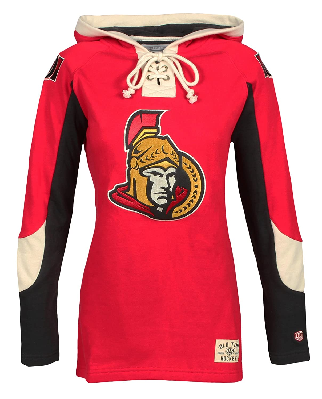Old Time Hockey NHL Womens Ottawa Senators Heavyweight Hoodie