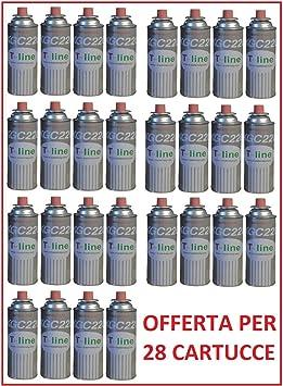 Altigasi - Cartucho bombona de gas 250 g butano GPL ideal para hornillo Bistro ***Oferta 28 piezas***