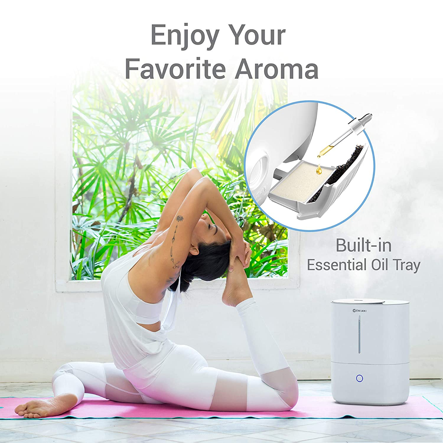 Amazon.com: Top Fill Cool Mist Humidifiers for Bedroom ...