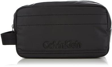 Calvin Klein Jeans METRO WASHBAG , Bolso de piel sintética hombre, color negro, talla
