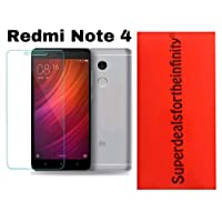 Redmi Note 4 Hammer Proof Glass Armour Screen Protector. Tempered Glass its a Shutter Proof/Unscratchable Transparency/Flexible Screen Protector QC Pass 001