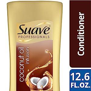 Suave Professionals Damage Repair Conditioner, Coconut Oil Infusion, 12.6 oz