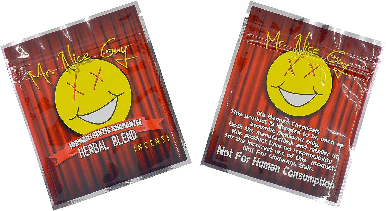 "100 pcs Customized Printed Bags Mylar Aluminum Foil Zip Lock Pouch Food Storage Moisture Proof Keep Aroma Bags (8.5x10cm(3.35""x3.94"") (3g), Mr.Nice)"