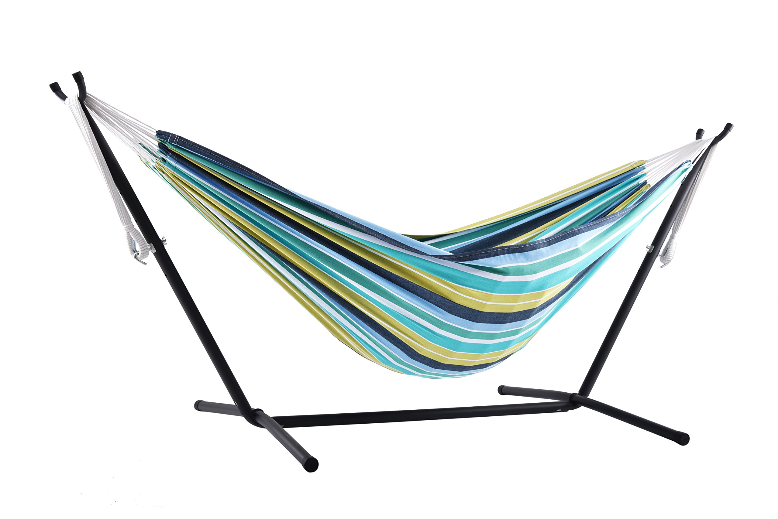 aluminum hammocks outdoor camping carabineers products gonex portable double with al hammock two straps person