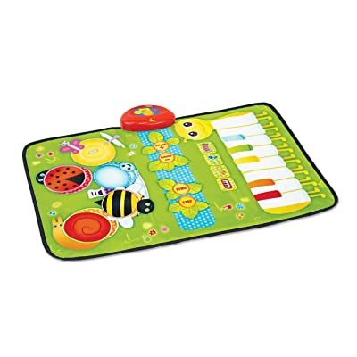 Kidoozie Cute Critters 2 in 1 Music Mat: Toys & Games