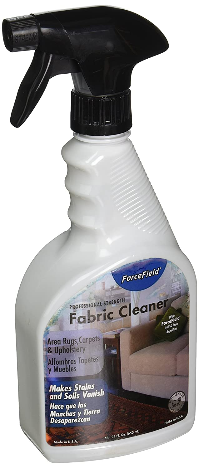 ForceField - Fabric Cleaner - Remove, Protect, and Deep Clean - 22oz (1 Pack 22 fl.oz.)