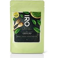IRO culinaire Japanse biologische Matcha thee van superieure kwaliteit, 40 g hersluitbaar zakje, ideaal voor een Matcha…