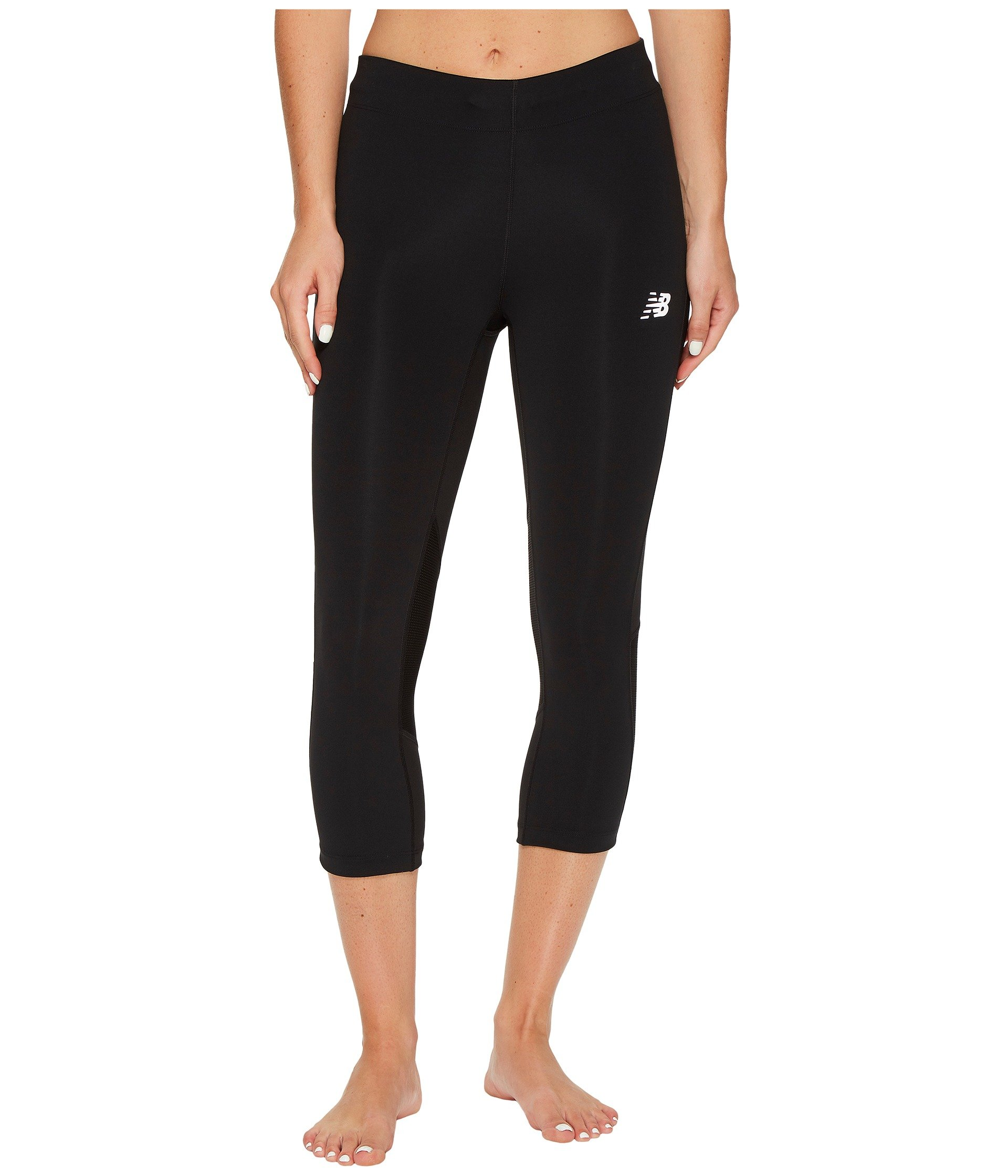 New Balance Women's Impact Capri Pants, Black, Medium