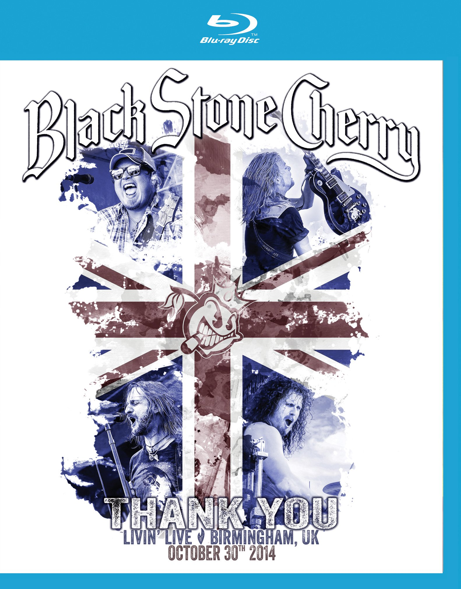 Blu-ray : Black Stone Cherry - Thank You: Livin' Live, Birmingham, Uk October 30, 2014 [BR/ CD] (With CD, 2 Disc)