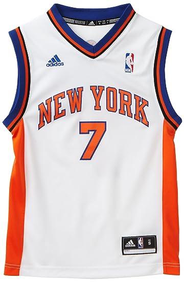 8893f43d3bf Amazon.com   NBA New York Knicks Carmelo Anthony Youth 8-20 Replica Home  Jersey