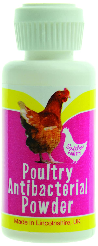 Battles Poultry Antibacterial Powder - 20g 3491