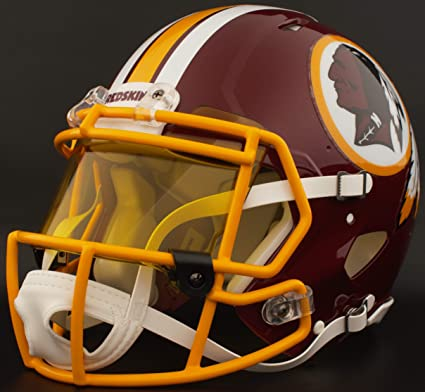 Image Unavailable. Image not available for. Color  Riddell Custom  Washington Redskins Full Size NFL Speed ... ae76067ee