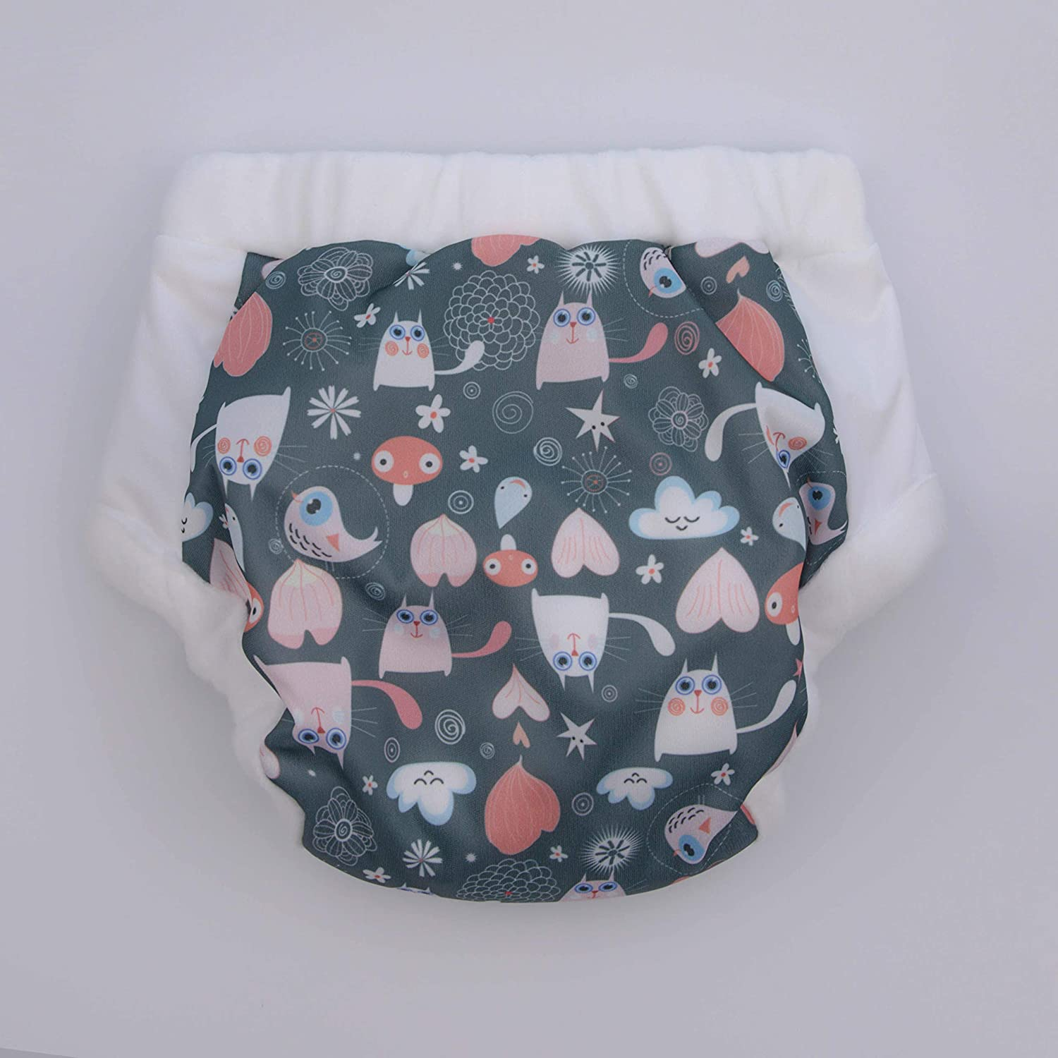 Super Undies Cotton Nighttime Bedwetting with Built-in Padding /& Optional Extra Insert Pads