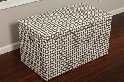 Oliver And Smith Cloth Storage Ottoman With   3 Ottomans U0026 2 Stools    33u0026quot;
