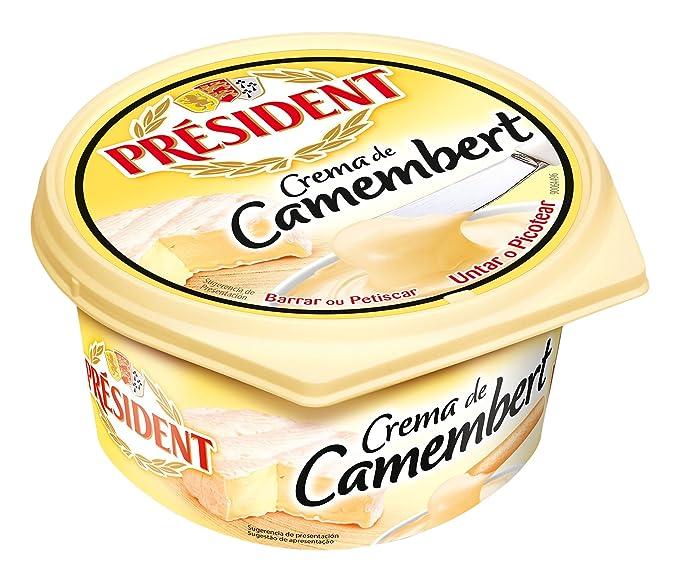 President Crema de Queso Camembert - 125 gr