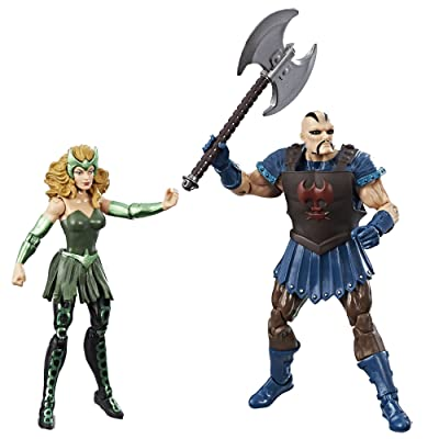 Marvel Legends 3.75-inch Marvel's Enchantress & Executioner 2-Pack: Toys & Games