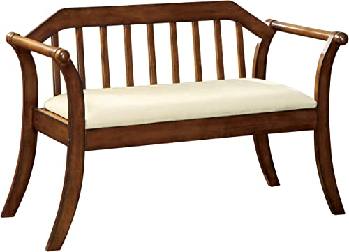 Furniture of America Halton Accent Bench