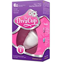 Divacup Copa Menstrual Reusable, Modelo 1, Pack of 1