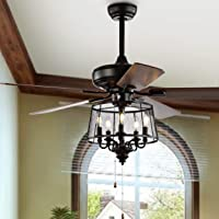 Safavieh Lighting 52-Inch Jonie Ceiling Light Fan CLF1002A Deals