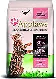 Applaws Katze Erwachsene, Huhn mit Extra Lachs, Trockenfutter, 1er Pack (1 x 7.5 kg)