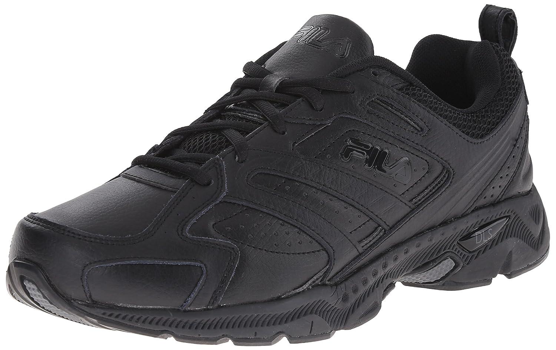 Fila Men's Capture Running Shoe B00CN3OUNK 10.5 D(M) US|Triple Black