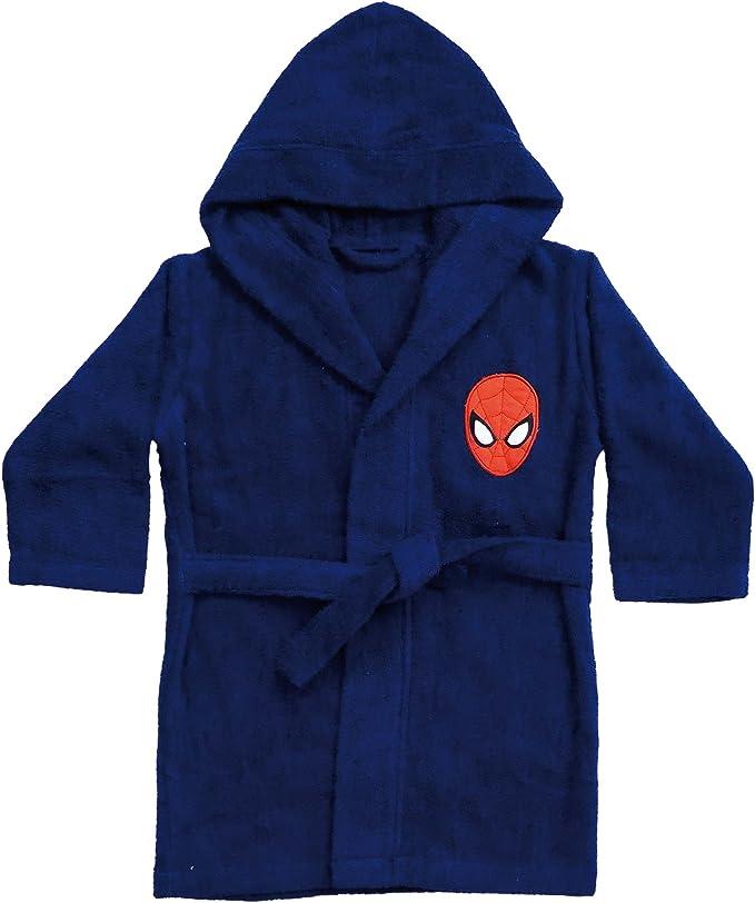 Spiderman 042393 Albornoz Peter, algodón, Rizo, 6/8 años, 110 ...