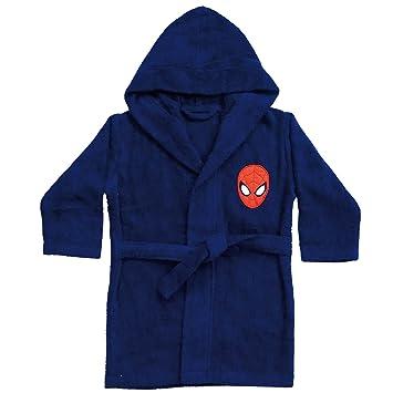 Spiderman 042394 Bademantel Peter 86-104 cm 2//4 Jahre Baumwolle Frottee