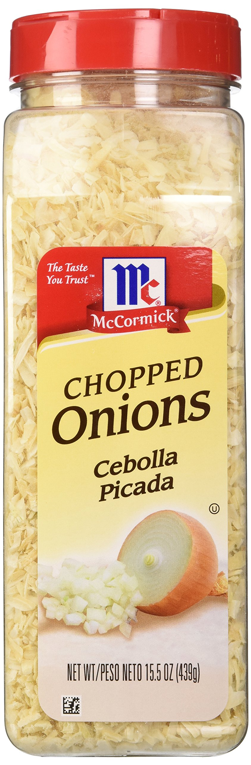McCormick Chopped Onion, 15.5 oz (Case of 12) by McCormick