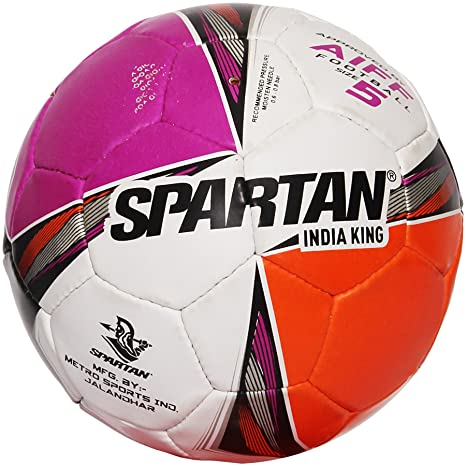 64476450c71 Buy Spartan India King Football A.I.F.F.Approved - Size 5 Online at ...