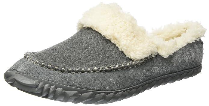 Sorel out N About Slide, Zapatillas Bajas para Mujer, Gris (Quarry/Natural), 40.5 EU