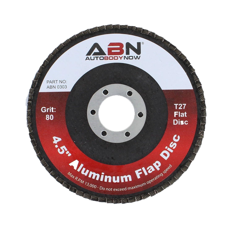 ABN 4.5 x 7//8 T27 40 Grit Aluminum Oxide Flat Flap Disc Grinding Sanding Sandpaper Wheels 5 Pack FBA/_297