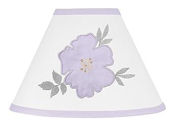Amazon.com: Sweet Jojo Designs - Lámpara de lavanda, color ...