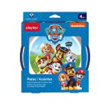 Playtex Mealtime Paw Patrol Plates for Boys, 2 Pack