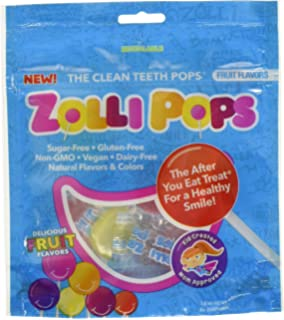 Zollipops - Los dientes limpios chupetes naranja ...