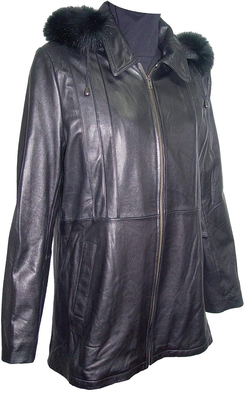 Johnny 4001 Classic Fur Trim Leather hooded Jacket 4 Season Wear Winter Coats 4001stnphrzx