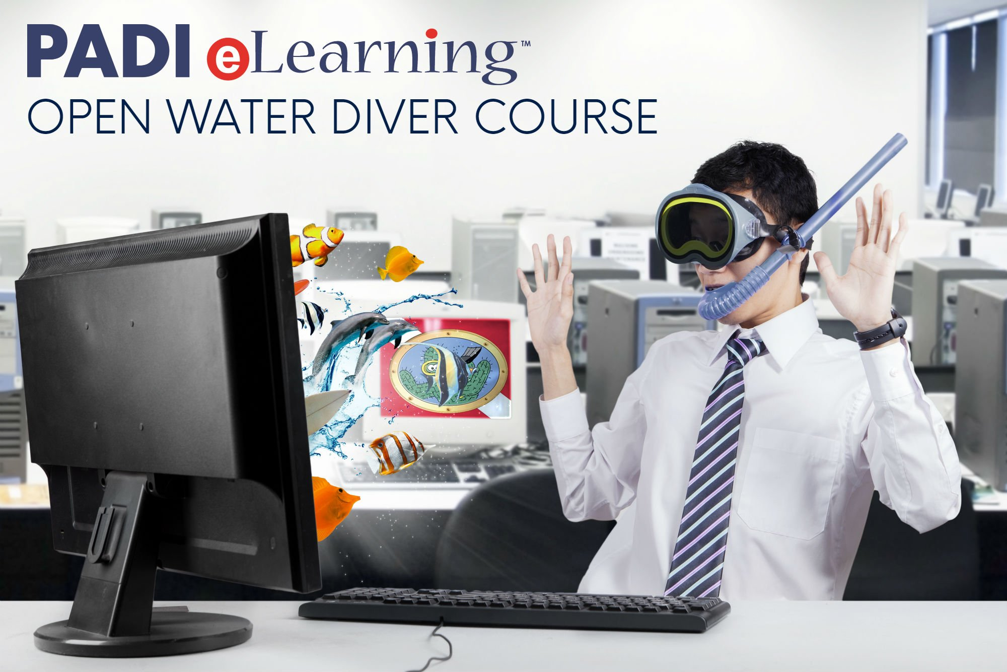 Padi Open Water Online Scuba Certification Course by Padi