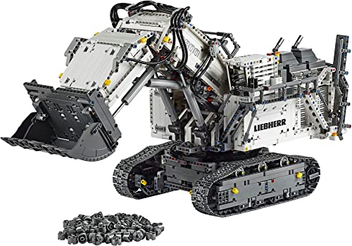Outstanding LEGO Technic Liebherr R 9800 Excavator 42100 Building Kit