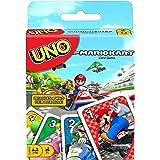 UNO Mario Kart Juego de Cartas con 112 Cartas e Instrucciones para Jugadores de 7 años y más, Regalo para niños, Familia y Ad