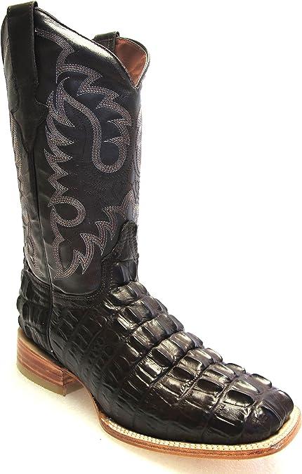 Amazon.com: Botas de piel de cocodrilo hechas a mano para ...
