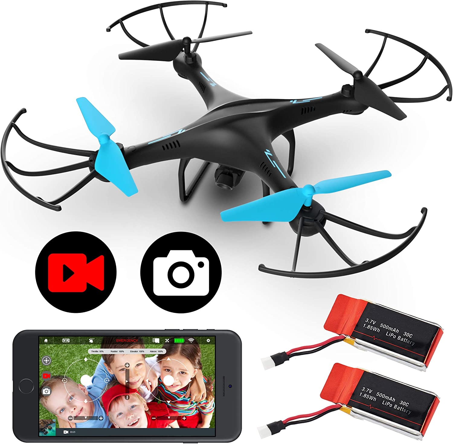 Force1 U45WF is at #1 for best drones under 50 dollars