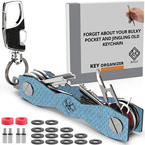 Amazon.com: Organizador de llaves con soporte para llaves ...