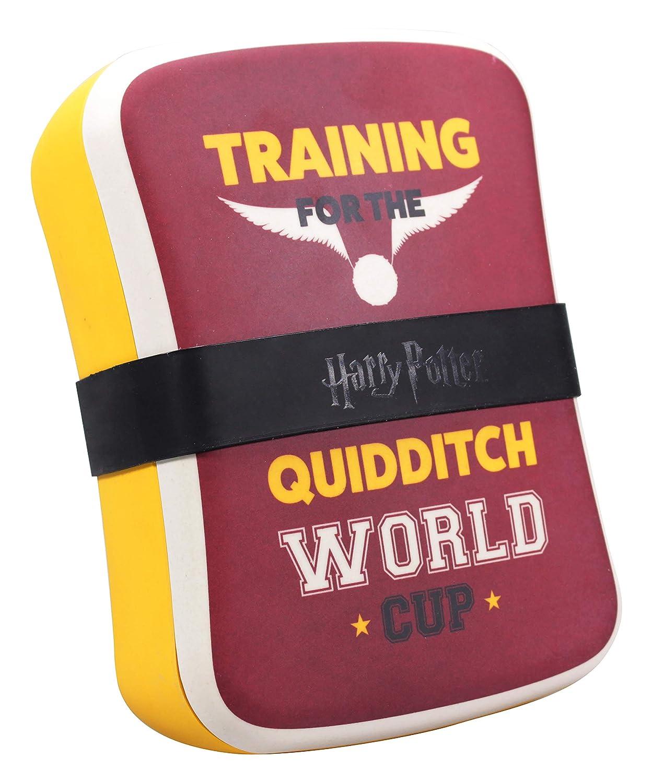Half Moon Bay LBOX1HP04 Fiambrera Qudditch, Harry Potter, bambú ...