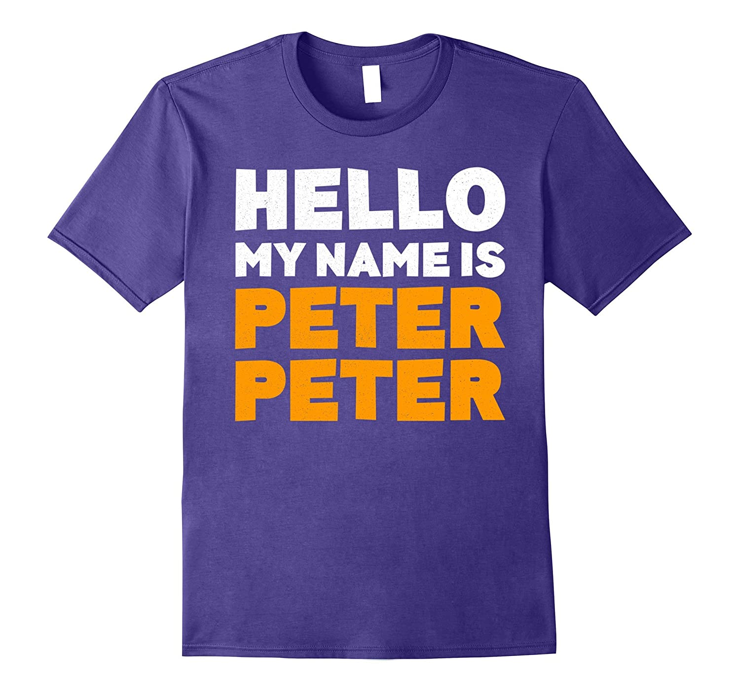 Hello My Name Is Peter Peter T-Shirt Halloween Costume Shirt-FL