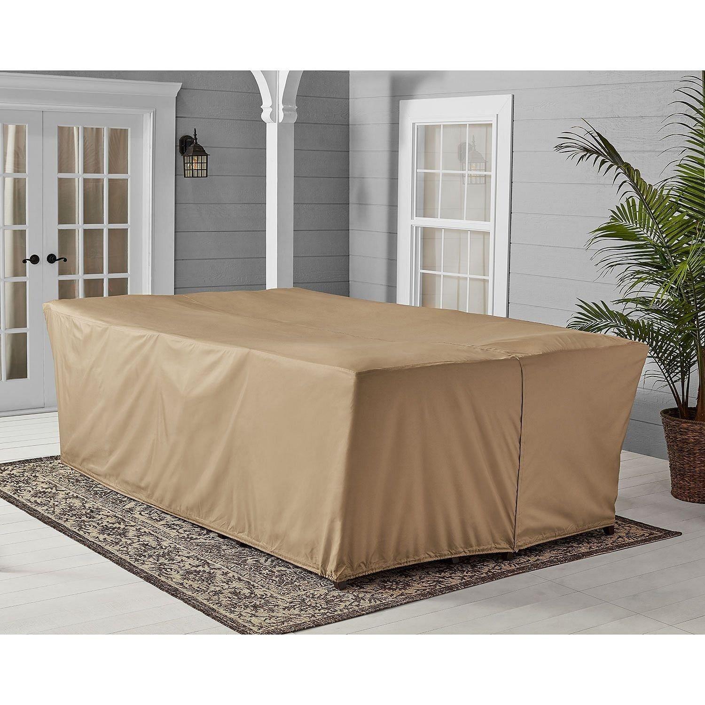 Amazon com agio outdoor waterproof universal size 118 x 70 patio furniture set cover garden outdoor
