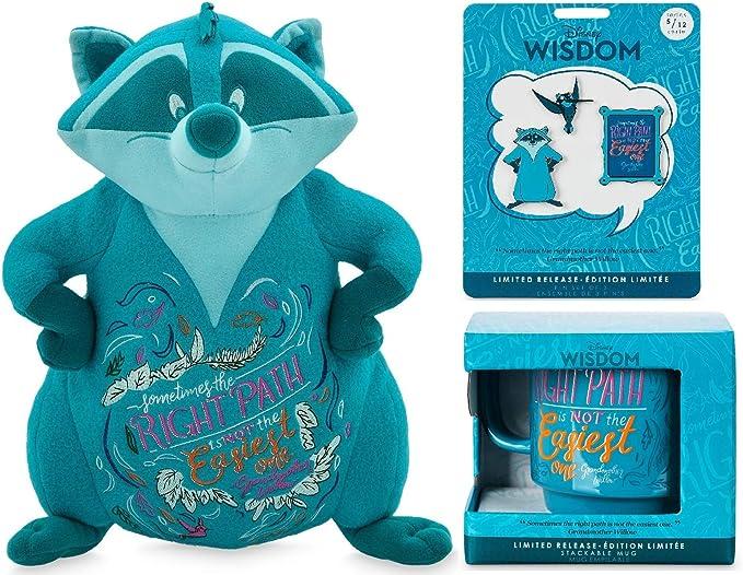 Disney Store Wisdom Series Plush  Meeko Pocahontas May Limited Release NWT 5//12