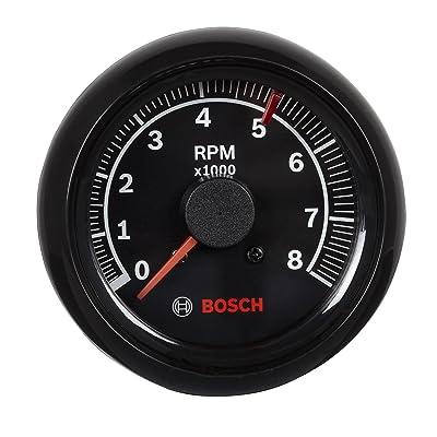 "Bosch SP0F000025 Sport II 2-5/8"" Tachometer (Black Dial Face, Black Bezel): Automotive"