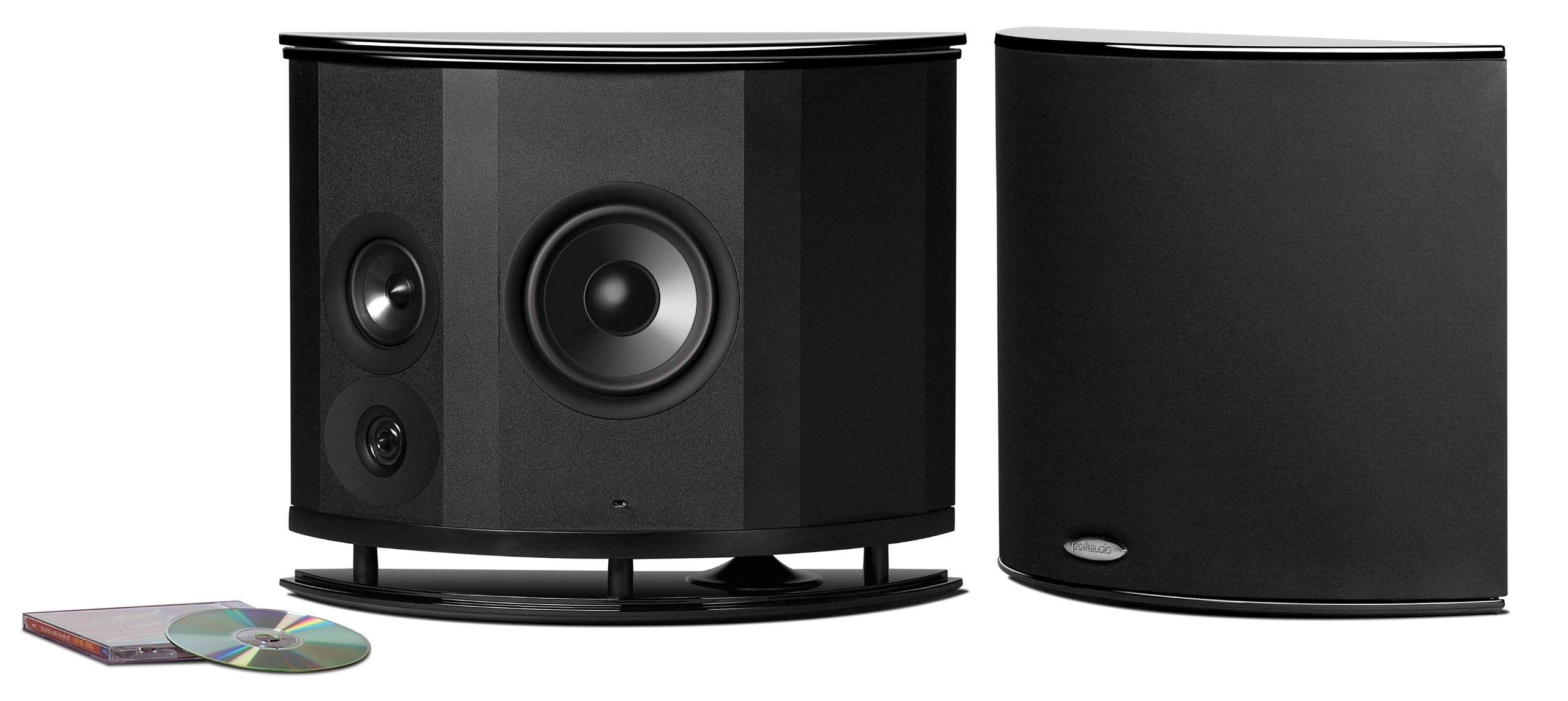 Polk Audio LSiM 702 F/X Surround Effects Speaker (Black)